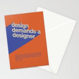 Design Demands A Designer Stationery Cards