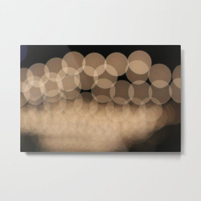 Unfocused Lights Metal Print