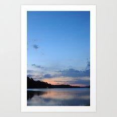 Dawning - Sunrise at Lake Hamilton Art Print