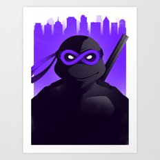 Donatello Forever Art Print
