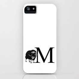 muskox iPhone Case