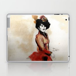 Irene Adler in Watercolor Laptop & iPad Skin