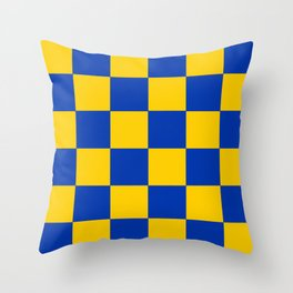 Flag Of The English County Of Surrey Throw Pillow