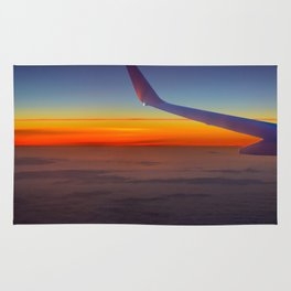 Sunrise over the seventh sky Rug