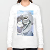 snow Long Sleeve T-shirts featuring Snow by Liam Brazier