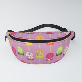 Fruit popsicles - pink version Fanny Pack