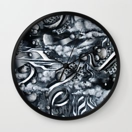 Re-Creation Of Impermanence Wall Clock