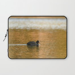 swimming trough gold Laptop Sleeve