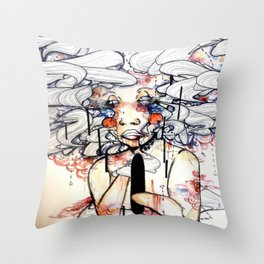 The Mind That Doesn't Know Throw Pillow