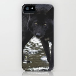 River wolf iPhone Case