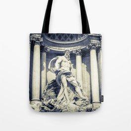Poseidone Fontana Di Trevi, Rome - Italy Tote Bag