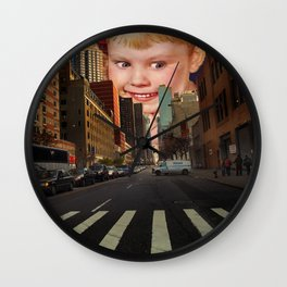 It Looks So Real Wall Clock