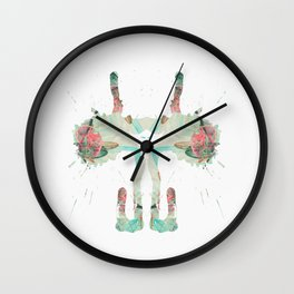 Inkdala V (Rorschach) Wall Clock