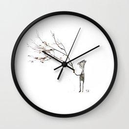 io and the Tree Wall Clock