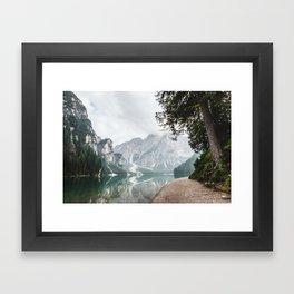 Follow Me Home Framed Art Print