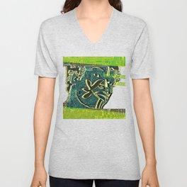 Avatars 2 - Skin Circuits 07-08-16 Unisex V-Neck