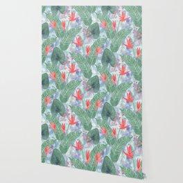 Tropical pattern 4 Wallpaper