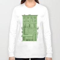 brooklyn Long Sleeve T-shirts featuring brooklyn by MJ DiLorenzo