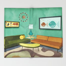 The Room 1962 Throw Blanket