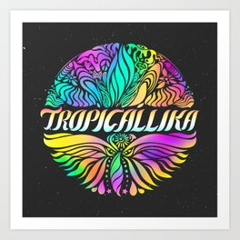 Tropicallika Peruvian Band Art Print