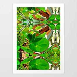 Maxflower bulb Art Print
