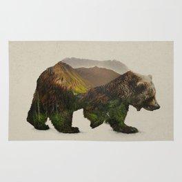 North American Brown Bear Rug