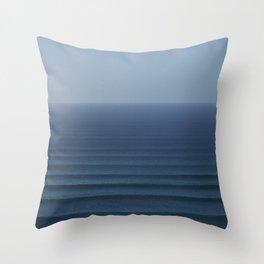 Ocean Rhythms Throw Pillow