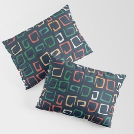 Incomplete squares pattern Pillow Sham
