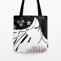 asian Tote Bags featuring Asian Obsession by DesignDinamique