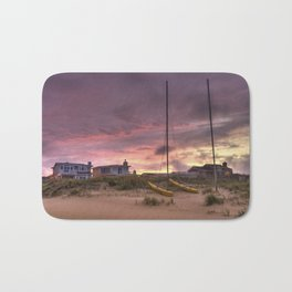Sunset after Hurricane Florence Bath Mat