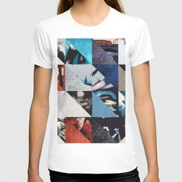 u2's achtung baby triangles T-shirt