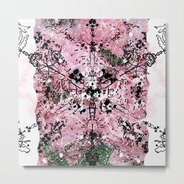 Cosmic Abstract mandala Metal Print