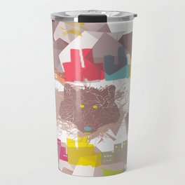 """""""the wolf in the town"""" Travel Mug"""