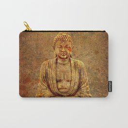 Sand Stone Sitting Buddha Carry-All Pouch