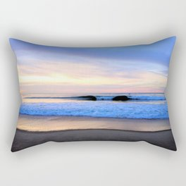 Sunset over the Atlantic Ocean Rectangular Pillow