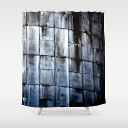 Silo Side Shower Curtain