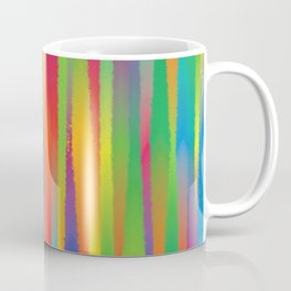 Paint Yourself In Stripe Coffee Mug