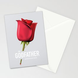 The Godfather - Alternative Movie Poster Stationery Cards