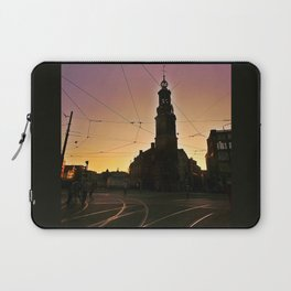 Tracks and Wires Laptop Sleeve