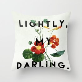 Lightly Throw Pillow