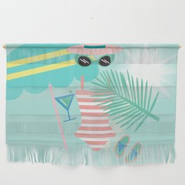 Palm Springs Ready Wall Hanging