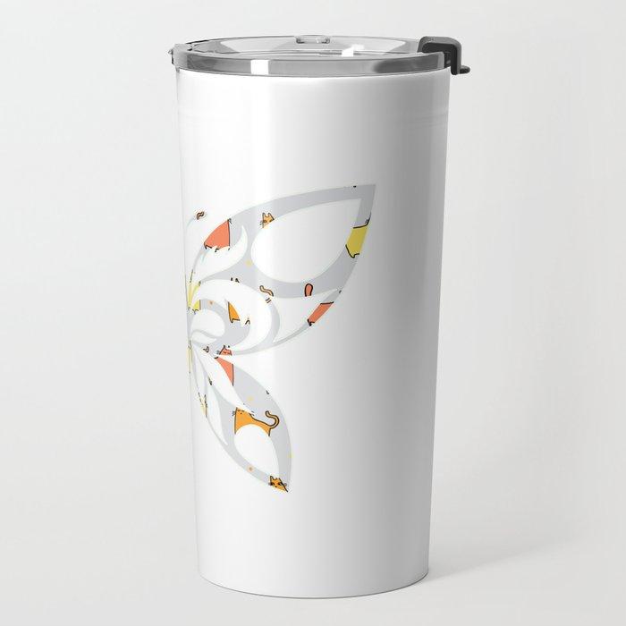 Butterfly 166 Travel Mug
