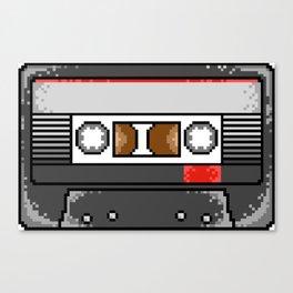 Pixel Cassette Canvas Print