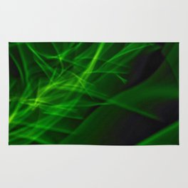 Glowstick Light painting Rug