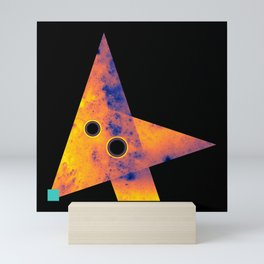 Fox, Exploring Space Mini Art Print