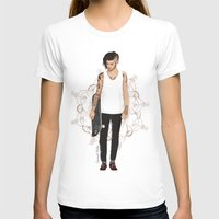 zayn T-shirts featuring Skater Zayn  by Coconut Wishes