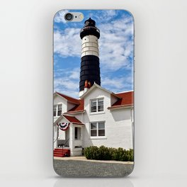 """Big Sable Point Lighthouse"" #2 iPhone Skin"