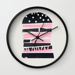 Big Burger Yum Wall Clock