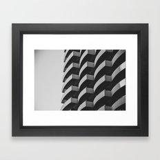 Fascinating Facade Framed Art Print