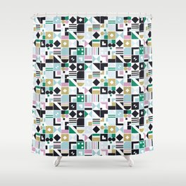 Squarely Shower Curtain